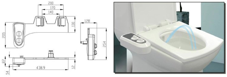 Comment procéder à l'Installation d'un kit wc japonais sur une toilette ?