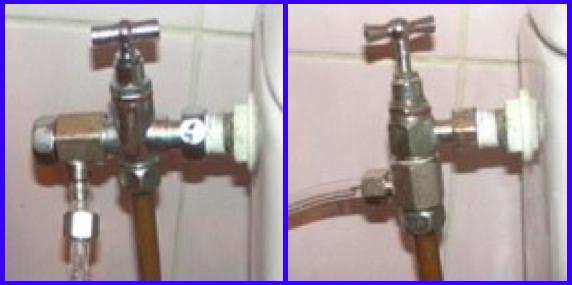 Installer un kit wc douchette japonais sur un sanitaire.