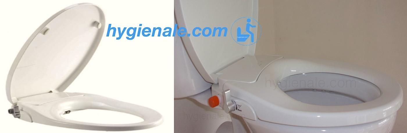 Un abattant wc bidet japonais pour toilette lavante