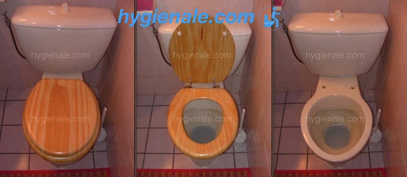 Installer un abattant wc japonais sur un vieux sanitaire