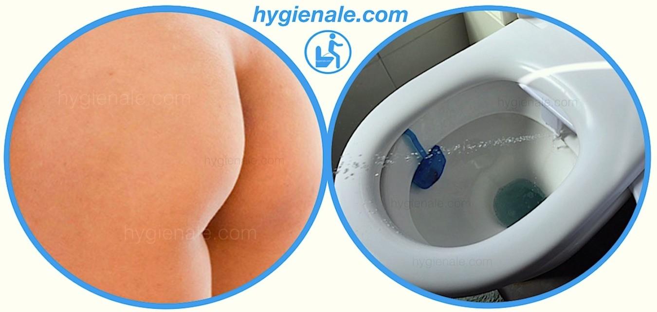 La douchette wc japonais est la meilleure garantie pour conserver des fesses propres aux toilettes !