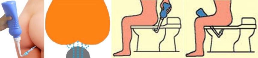 Comment utiliser un bidet manuel pulvérisateur aux toilettes ?