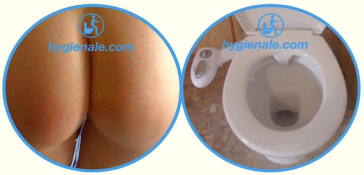 Traiter les hémorroïdes de l'anus avec une hygiène rectale parfaite des fesses grâce au wc japonais lavant