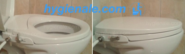 L'installation d'un abattant japonais sur une cuvette de wc