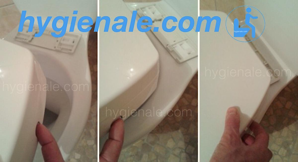 La pose d'un abattant japonais sur une cuvette de wc