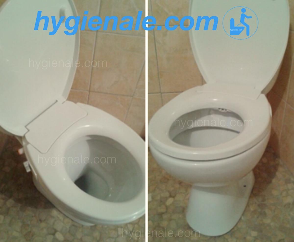 Le réglage lors de l'installation d'un abattant wc japonais
