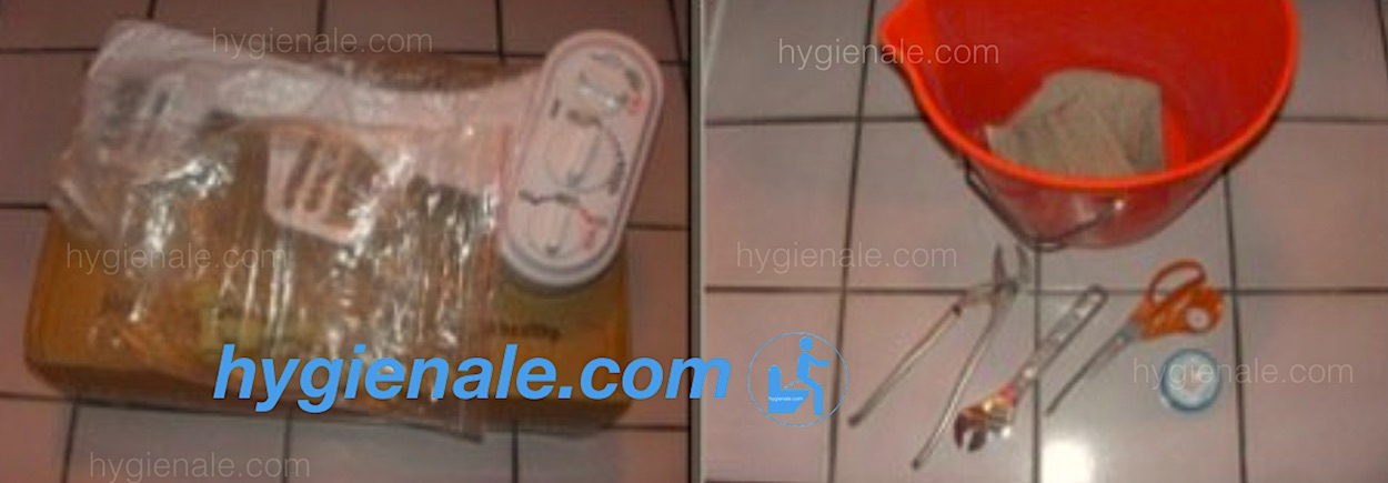 Installation d'un kit toilette japonaise washlet sur une cuvette de wc