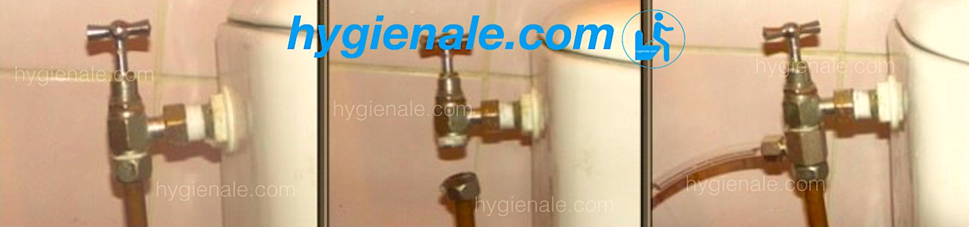 Installation d'un robinet pour un kit wc japonais