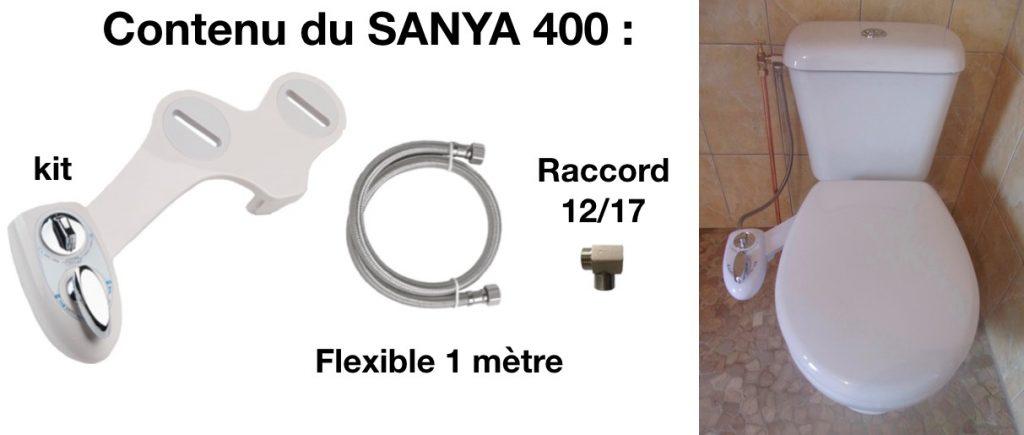 Le kit wc lavant japonais permet une hygiène intime optimale aux toilettes