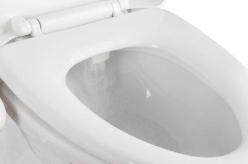 Le kit toilette japonaise possède un rinçage automatique des buses