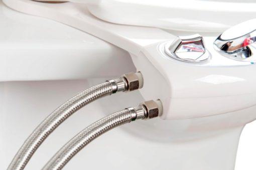 Le kit wc japonais hygiénique washlet délivre une eau à la température souhaitée