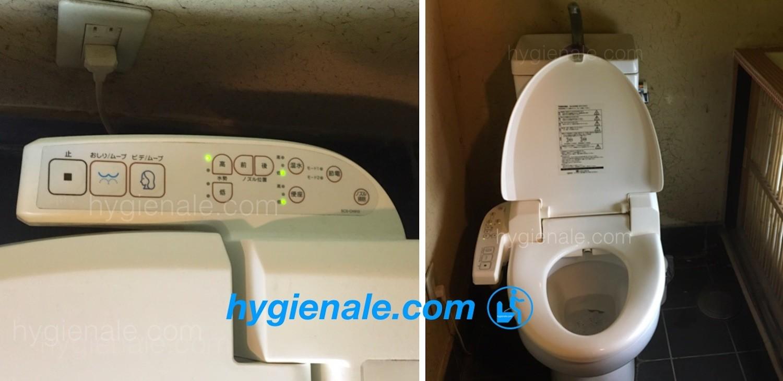 La toilette japonaise lavante est idéale pour l'hygiène intime au wc
