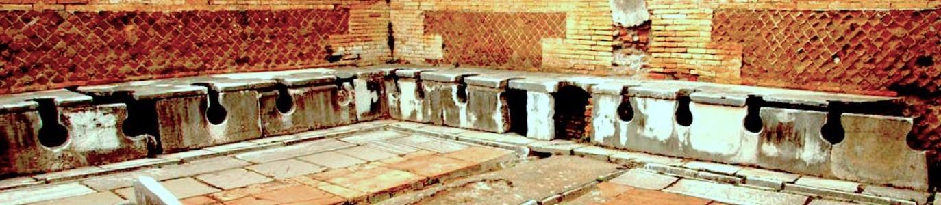 Les latrines publiques romaines
