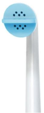 Le pulvérisateur du bidet manuel portable a une forme étudiée.