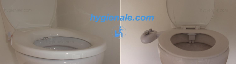Un bidet peut se remplacer simplement par un kit ou un abattant à poser sur la cuvette du wc