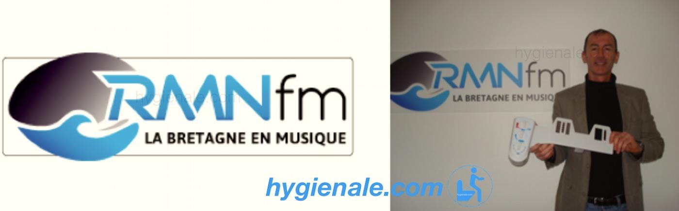 Emission radion RMN sur les wc Hygiènale